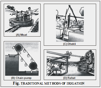 traditional method of irrigation