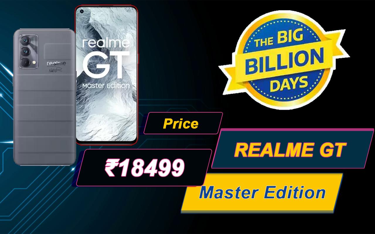 Realme GT Master Edition at Billion Days